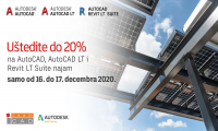 Flash promo: AutoCAD, AutoCAD LT i Revit LT do 20% popusta