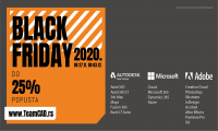 Black Friday - Autodesk, Microsoft i Adobe programi na popustu do 25%